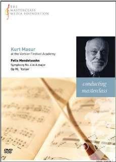 Kurt Masur - Mendelssohn: Symphony No. 4