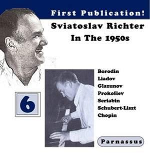 Sviatoslav Richter in the 1950s, Vol. 6