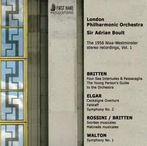 The 1956 Nixa-Westminster stereo recordings Volume 1