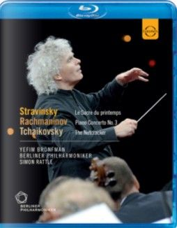 Sir Simon Rattle conducts Stravinsky, Rachmaninov & Tchaikovsky