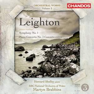 Leighton - Symphony No. 1 & Piano Concerto No. 3