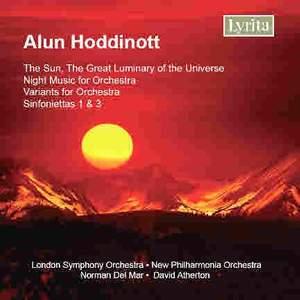 Hoddinott: Orchestral Works