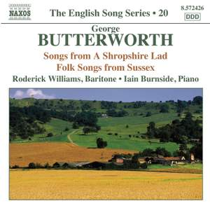 The English Song Series Volume 20 - George Butterworth