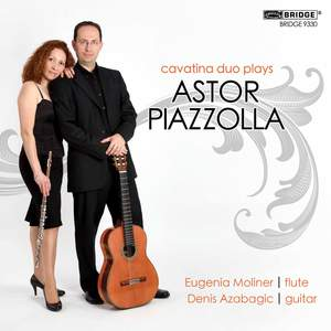 Piazzólla: Music for Flute & Guitar