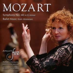 Mozart: Symphony No. 40 & Ballet Music from Idomeneo