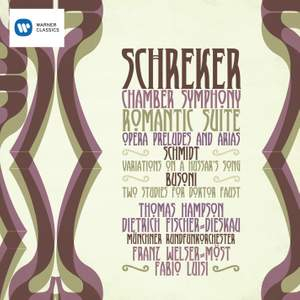 Schreker: Chamber Symphony & other works Product Image