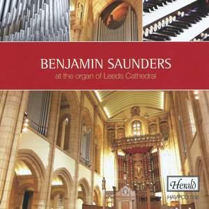 Benjamin Saunders at the Organ of Leeds Cathedral