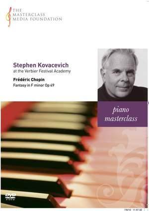 Stephen Kovacevich - Chopin: Fantasia in F minor, Op. 49
