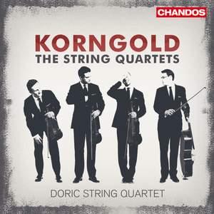 Korngold: String Quartets Nos 1, 2 & 3 Product Image
