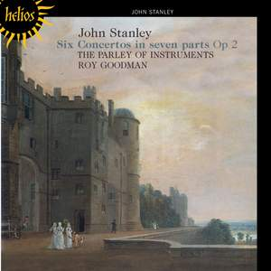 Stanley, J: Concertos for strings Op. 2 Nos. 1-6 Product Image