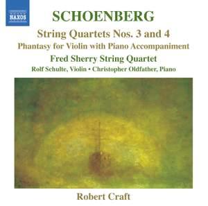 Schoenberg: String Quartets Nos. 3 & 4 Product Image