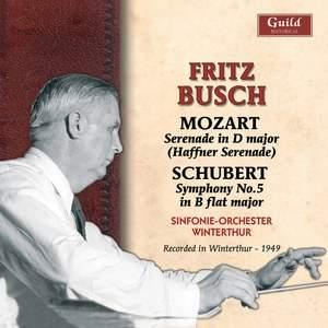 Fritz Busch conducts Mozart & Schubert