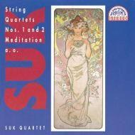 Suk: String Quartets Nos 1 and 2