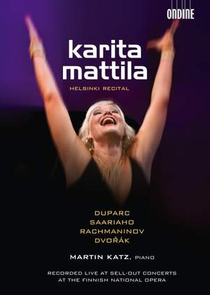 Karita Mattila: Helsinki Recital