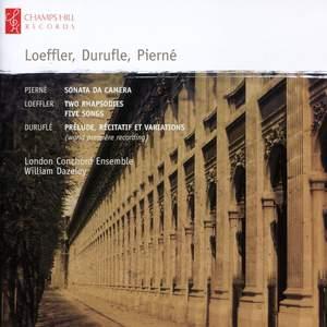 London Conchord Ensemble play Duruflé, Loeffler & Pierné