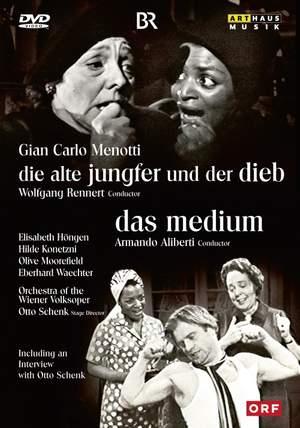 Gian Carlo Menotti: Die Alte Jungfer Und Der Dieb & Das Medium
