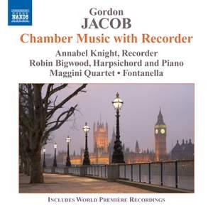 Gordon Jacob: Chamber Music with Recorder