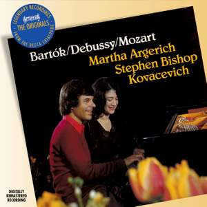 Argerich & Kovacevich play Bartók, Debussy & Mozart Product Image