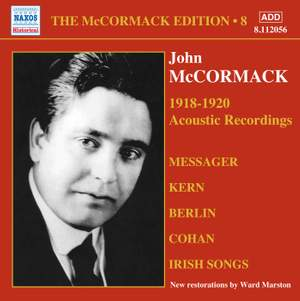The McCormack Edition Volume 8