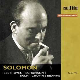 Solomon plays Beethoven, Schumann, Bach, Chopin & Brahms