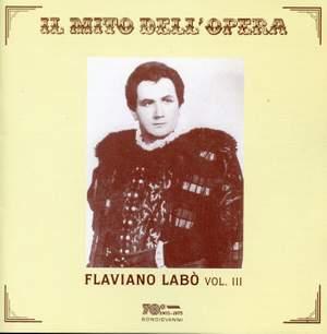 Flaviano Labo: Opera Arias, Vol. 3