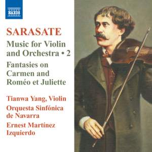 Sarasate: Music for Violin and Orchestra Volume 2