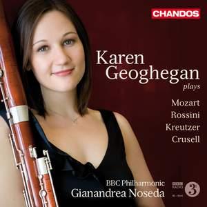 Karen Geoghegan: Works for Bassoon and Orchestra