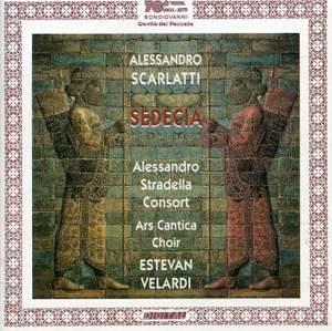 Scarlatti, A: Sedecia, re di Gerusalemme - Bongiovanni: GB2278/79 ...