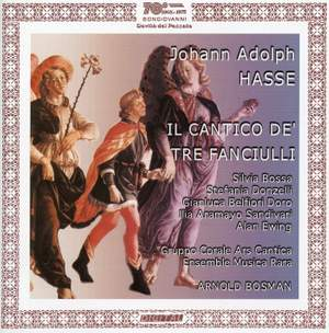 Hasse, J A: Il Cantico de' tre Fanciulli