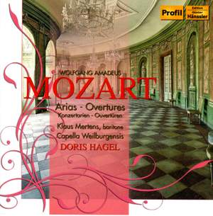 Mozart: Concert Arias for Baritone and Orchestra & Overtures