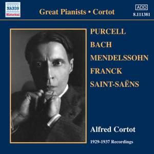 Alfred Cortot: 1929-1937 Recordings