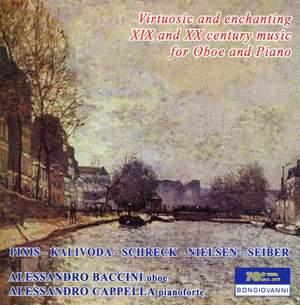 Virtuosic & Enchanting Oboe & Piano Music