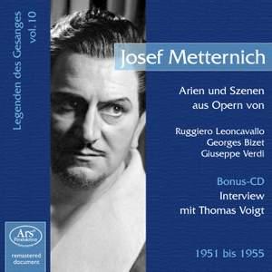 Joseph Metternich: Vocal Legends Vol. 10