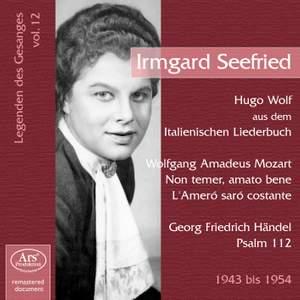 Irmgard Seefried: Vocal legends Vol. 12