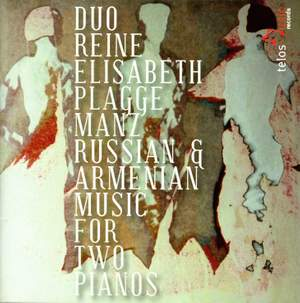 Russian and Armenian Music for two pianos