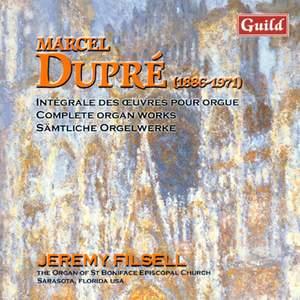 Marcel Dupré: Organ Works Vol. 1