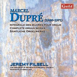 Marcel Dupré: Organ Works Vol. 7