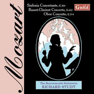 Mozart: Sinfonia Concertante k364
