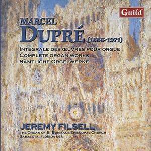 Marcel Dupré: Organ Works Vol. 8