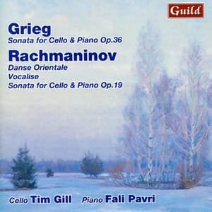 Grieg & Rachmaninov: Cello Sonatas