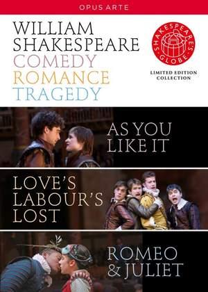William Shakespeare: Comedy, Romance, Tragedy