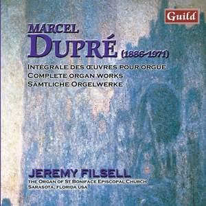 Marcel Dupré: Organ Works Vol. 11