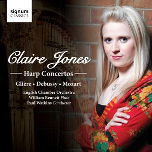 Claire Jones plays Glière, Debussy and Mozart