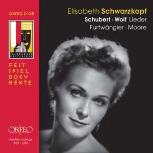 Elisabeth Schwarzkopf sings Schubert & Wolf Product Image