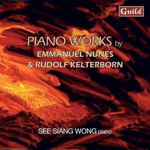 Piano Works by Emmanuel Nunes & Rudolf Kelterborn Product Image