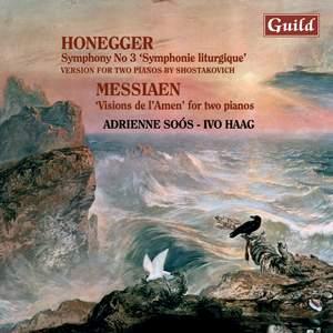 Honegger & Messiaen: Piano Duos Product Image