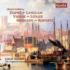 Organ Music by Dupré, Langlais, Vierne and others