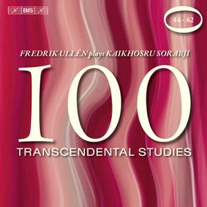 Sorabji - 100 Transcendental Studies, Volume 3
