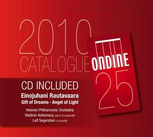 2010 Ondine Catalogue and CD