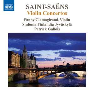 Saint-Saëns: Violin Concertos Nos. 1-3
